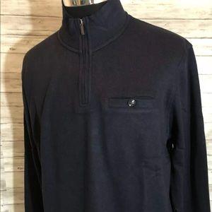 Men NEW! Ted Baker London 1/4 Zip Sweater N8